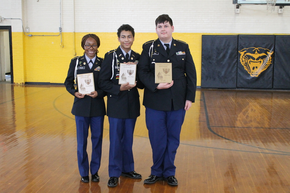 Mills JROTC Comet Battalion Places Three Times