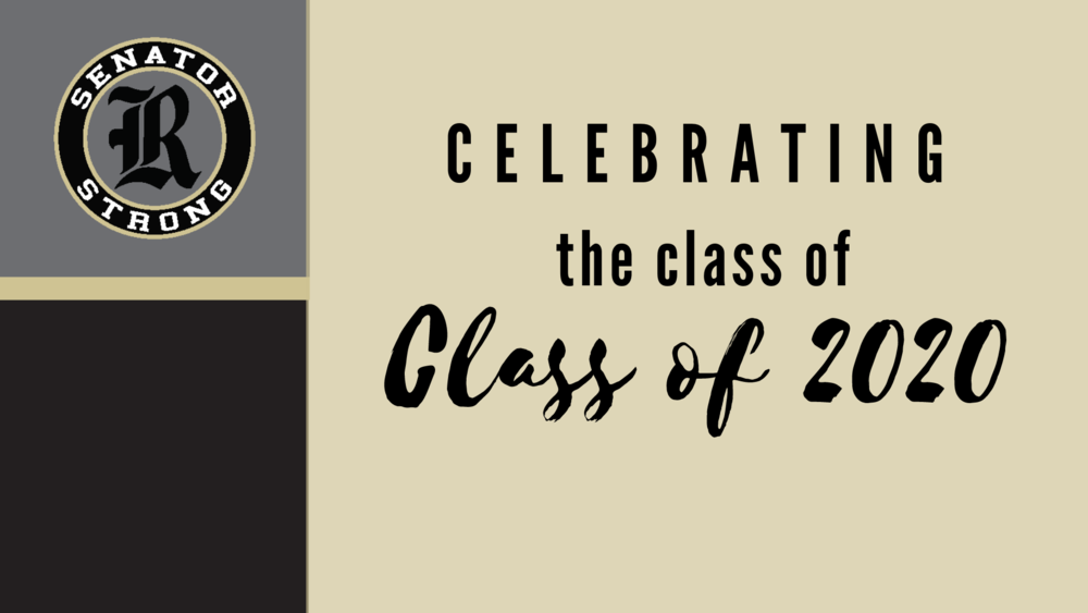 Celebrating the Class of 2020 at Joe T. Robinson High School