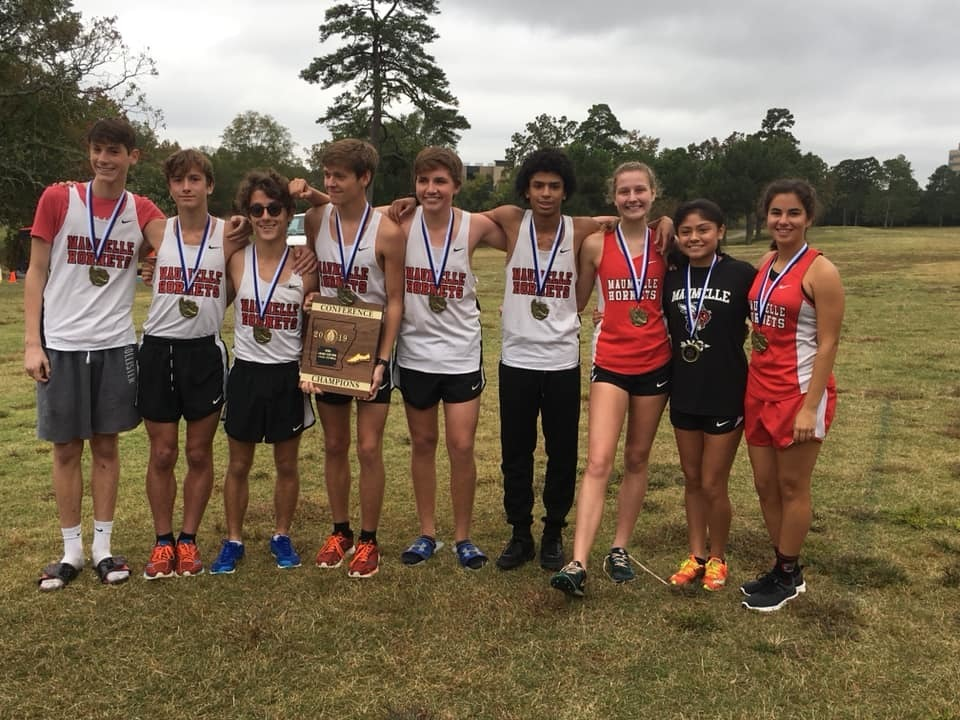 Boys Cross Country Team Wins Conference Championship