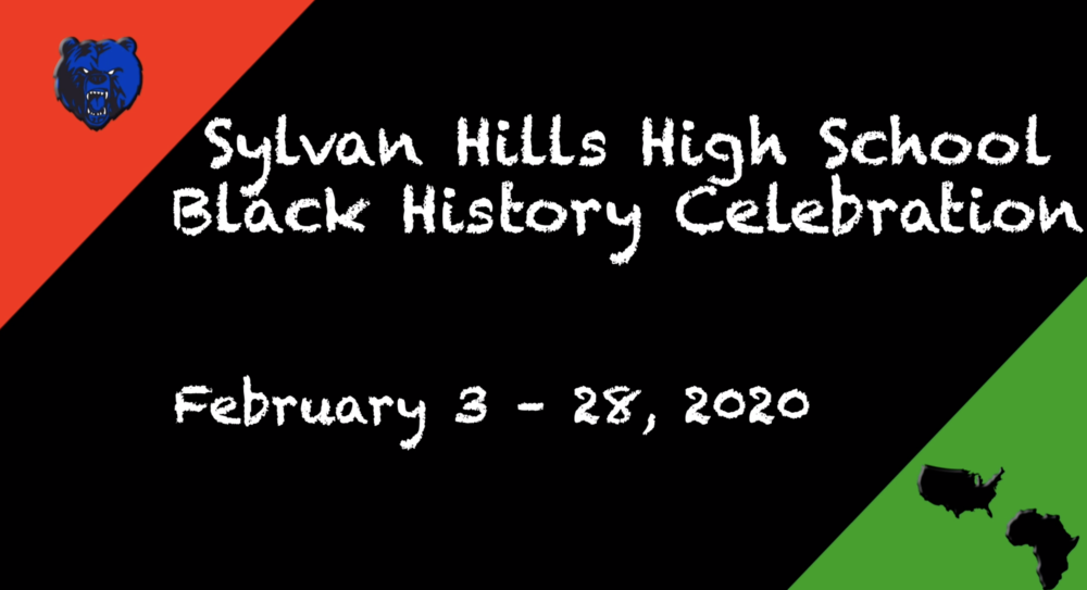 Black History Celebration at Sylvan Hills High School