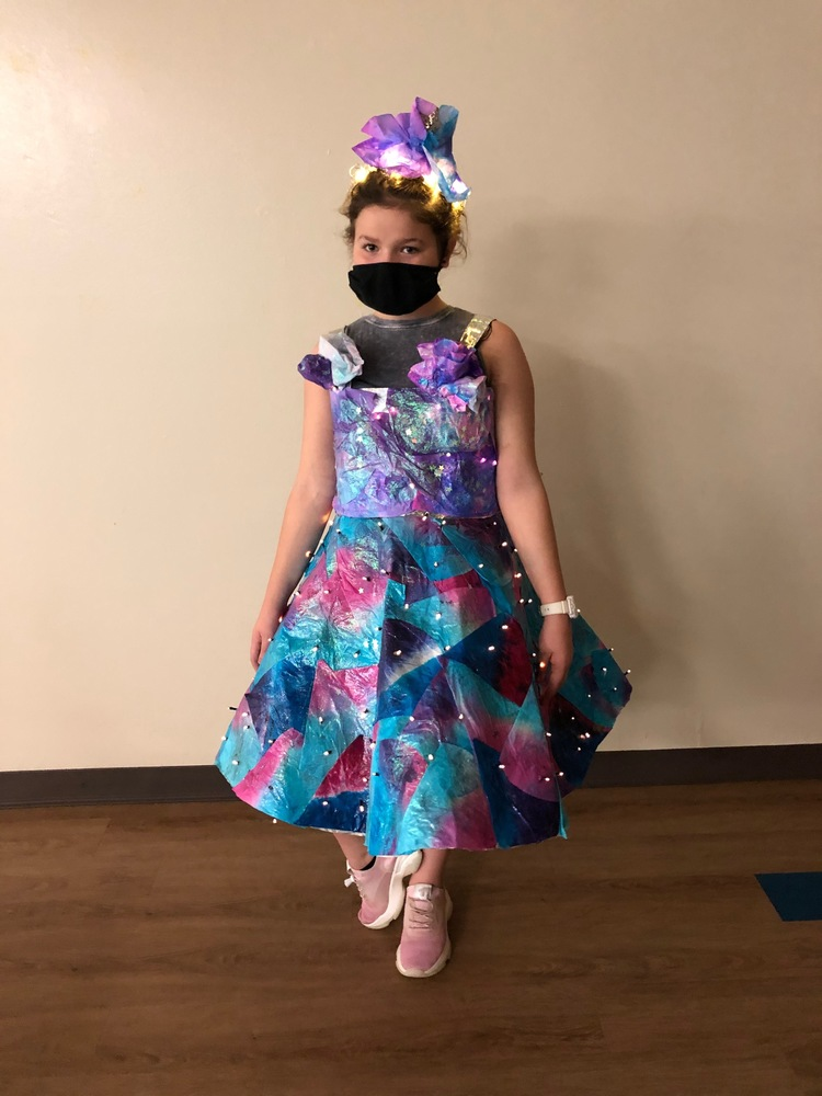 Landmark Student Wins Curbside Couture Fashion Show