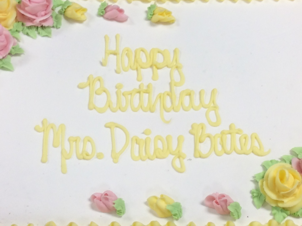 Daisy Bates Elementary Celebrates Birthday of Namesake