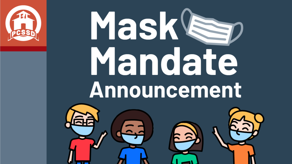 PCSSD Statement on Mask Mandate