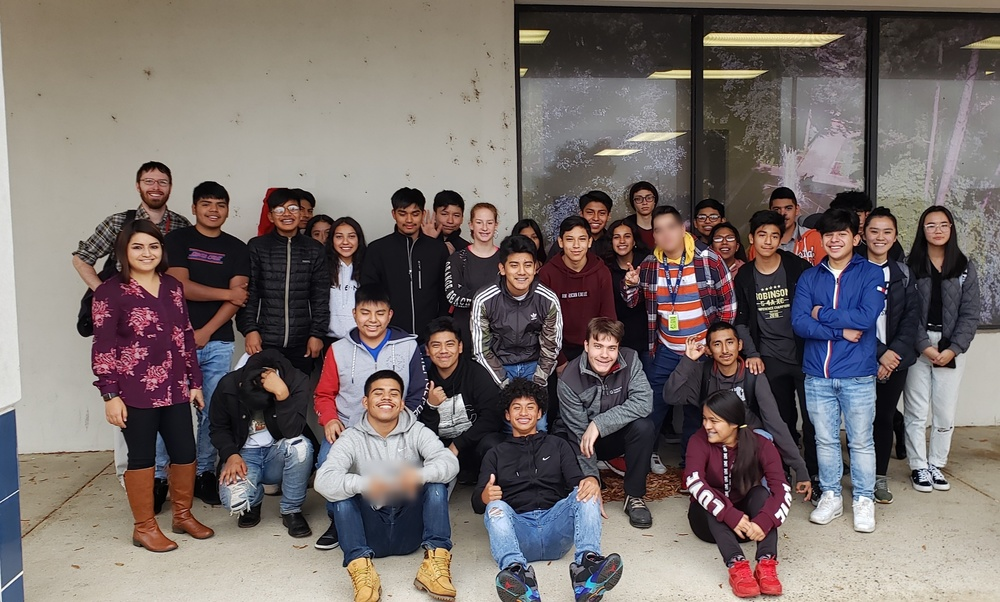 RHS ESOL students visit UA Little Rock