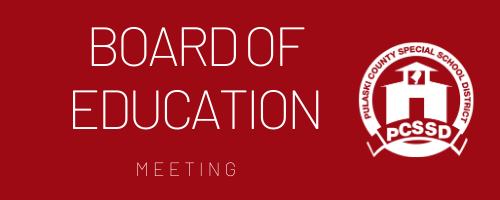 January Board of Education Meeting
