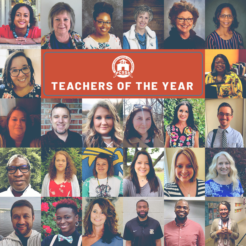 PCSSD Teacher of the Year