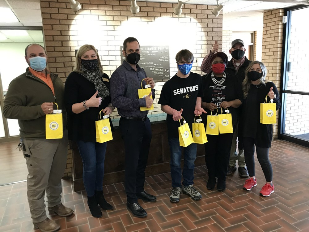 PCSSD receives donated sensory-friendly masks for students in need