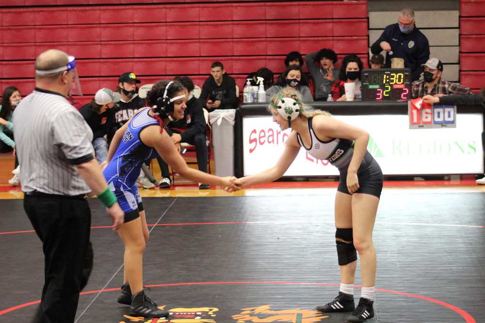 Lady Bear Wrestling Team Prepared for Tournaments