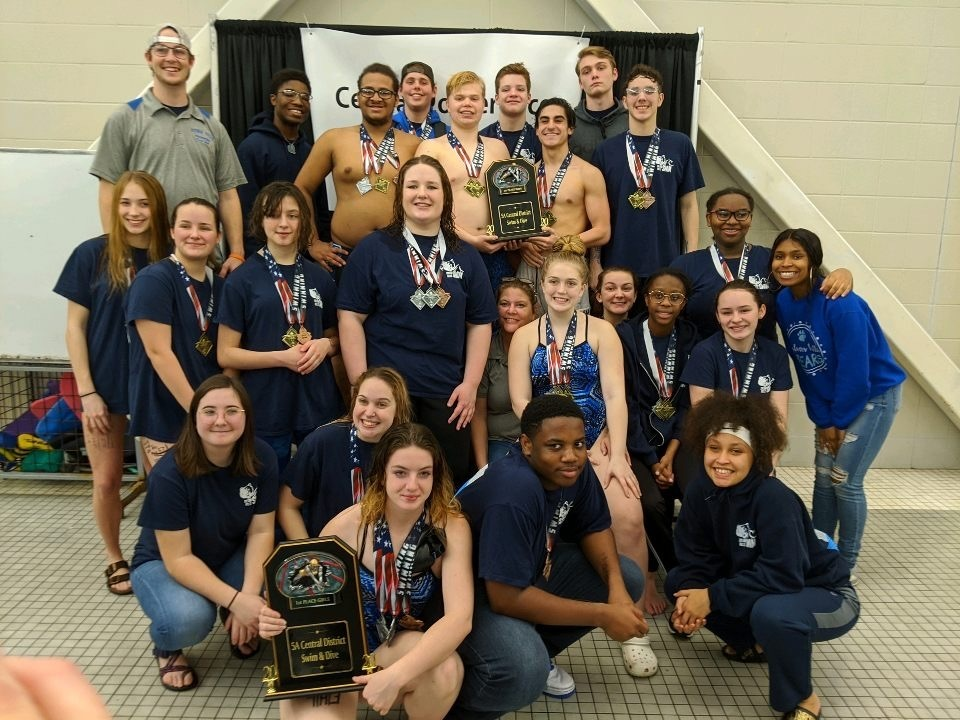 Sylvan Hills Swim Team Sweeps Conference