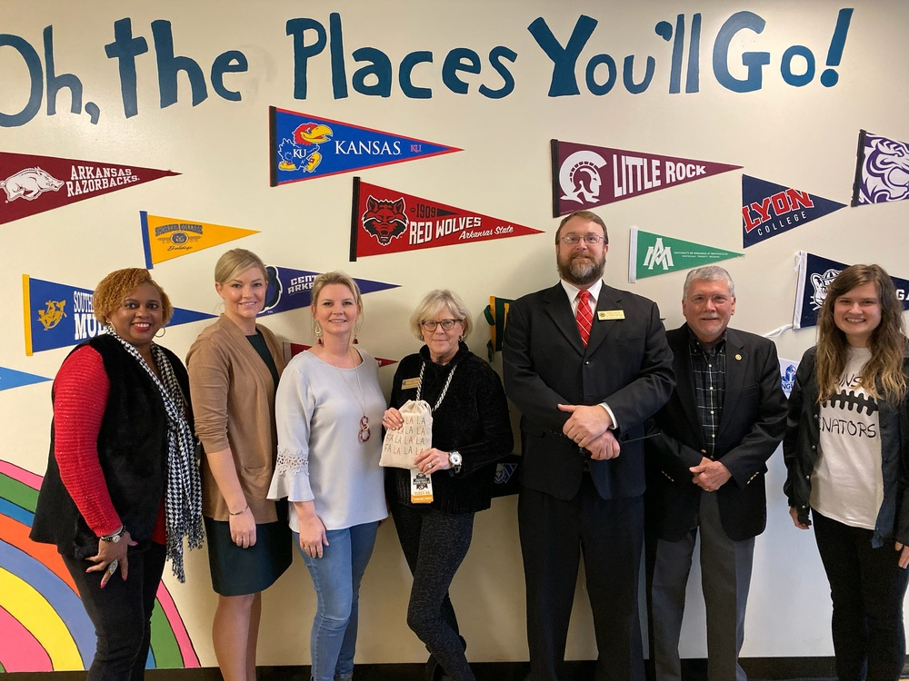Robinson High School Partners with Rotary Club