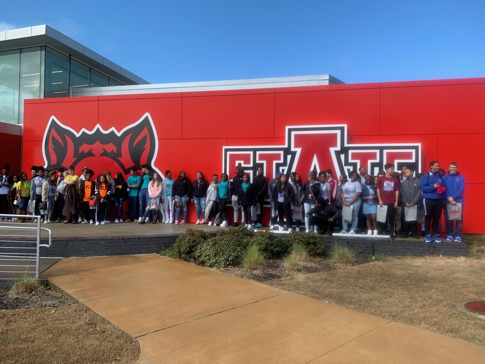 PCSSD AVID Students Tour Arkansas State University