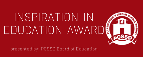 "PCSSD School Board Recognizes ""Inspiration in Education"""
