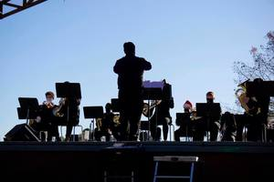 Maumelle Band Concert Held Outdoors