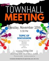 November Virtual Townhall Meeting