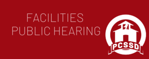 PCSSD to Hold Facilities Public Hearing
