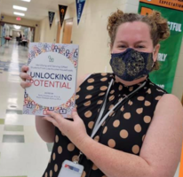 "PCSSD Teacher's Work Published in ""Unlocking Potential"""