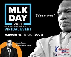 UA-PTC's King Day event to feature prominent author Dr. Michael Eric Dyson