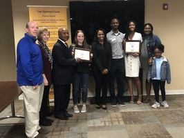SHHS Students Selected as Optimist Teens of the Month