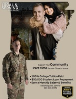 Arkansas National Guard Looking for PCSSD Students