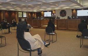 PCSSD high school students are sworn in for Teen Court program