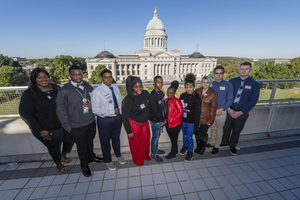 Students Participate in Young Voters Workshop