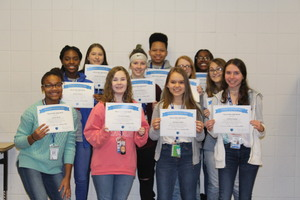 ALL-A Honor Roll-second quarter-SHHN