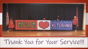 Daisy Bates Elementary Veterans Day Tribute