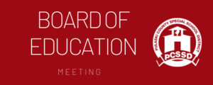 Board of Education Meeting