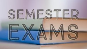 Semester Exam Exemptions