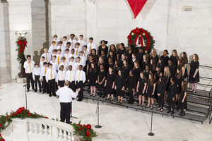 Sounds of the Season at the Arkansas State Capitol