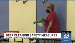 PCSSD breaks down deep cleaning measures to prevent spread of COVID-19