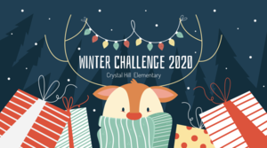 Crystal Hill Elementary's Winter Challenge