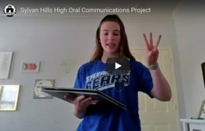 SHHS Students Present 3-Point Speeches
