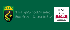 Mills High School Recognized by OEP for ACT Aspire Growth