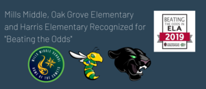 Three PCSSD Schools Recognized by OEP for Beating the Odds