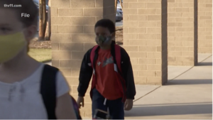 Some Arkansas students coming to class with dirty masks