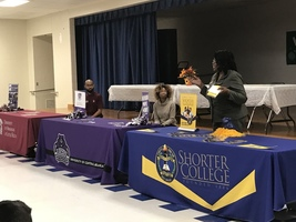 Daisy Bates Elementary Hosts Panel Discussing Higher Education