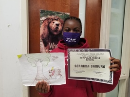 Maumelle 6th Grader Wins Art Contest