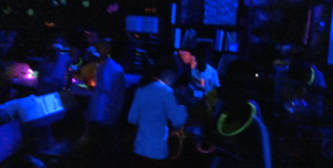 Mrs. Garmon Transforms Classroom for Glow Day!