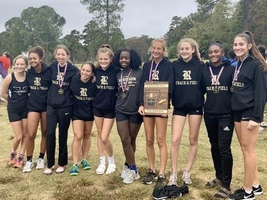 Girls Cross Country Team Wins Conference Championship