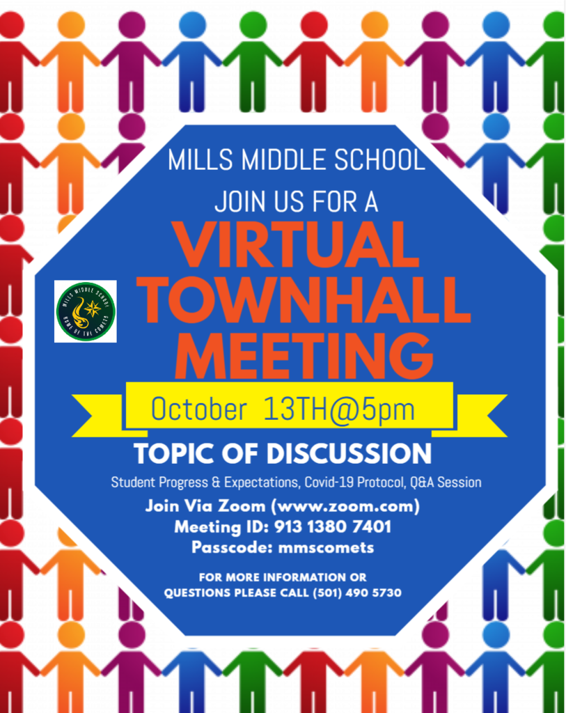 MMS Quarterly Townhall Meeting -October 13 @5pm