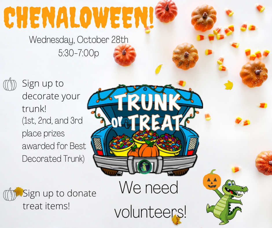 Chenaloween volunteers