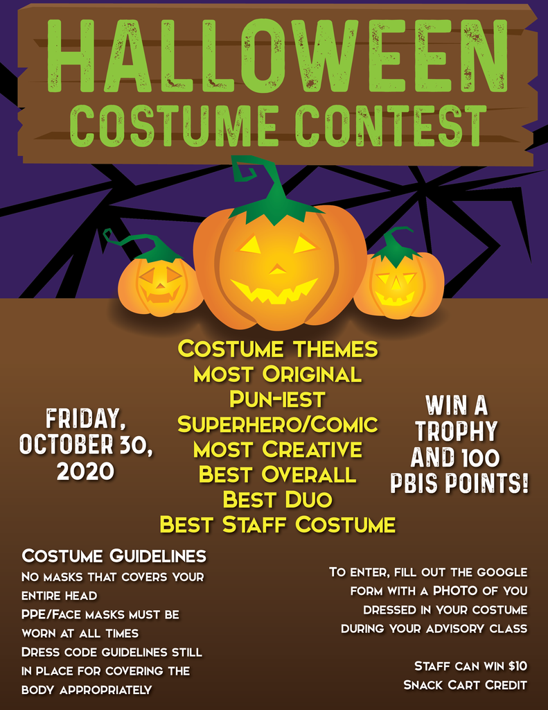 Costume Rules & Contest Details!