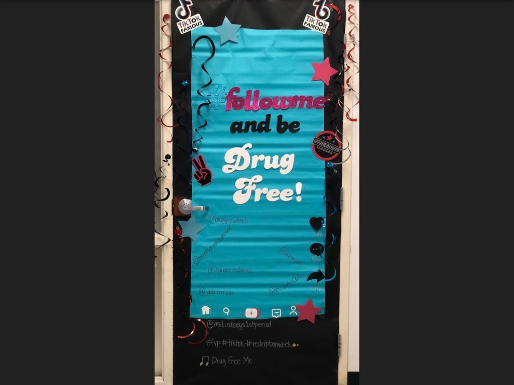 drug free door contest