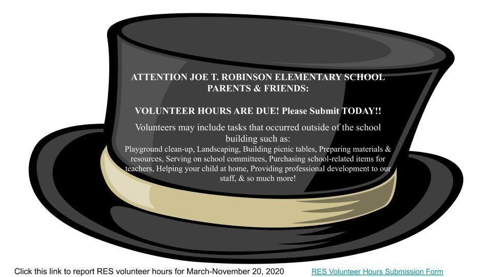 RES Volunteer Flyer