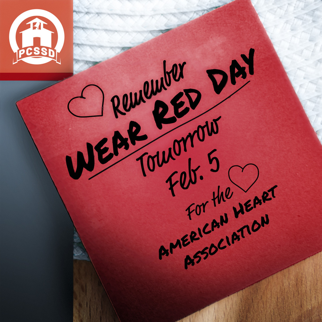 wear red reminder
