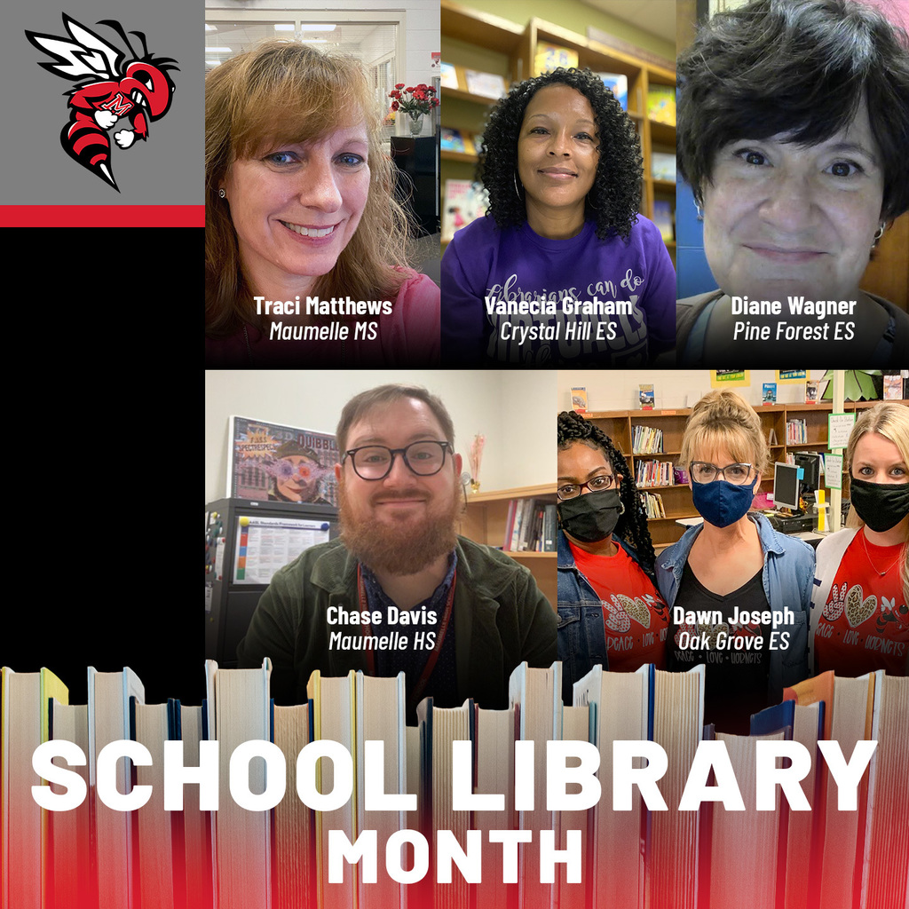 maumelle school library month