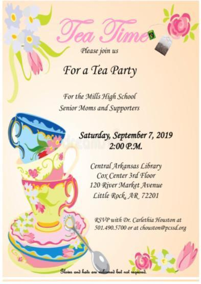 Tea Party Invite 2019