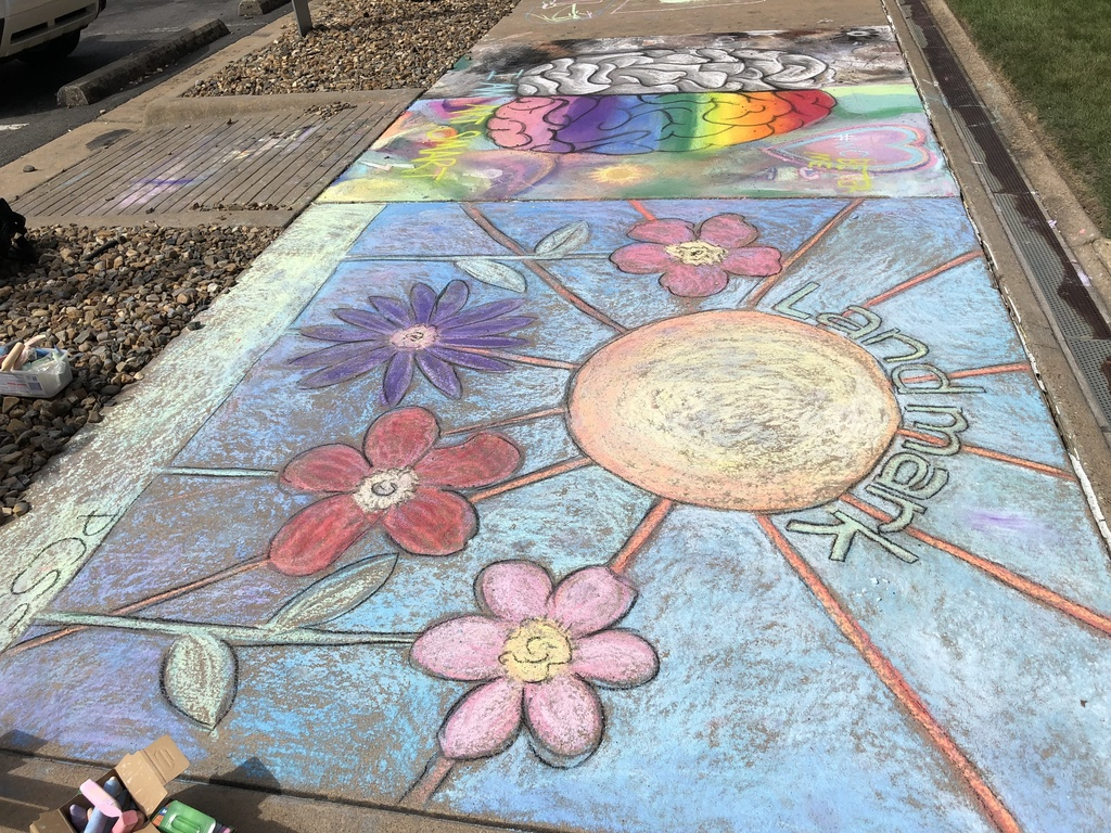 Chalk Art at the Thea Event