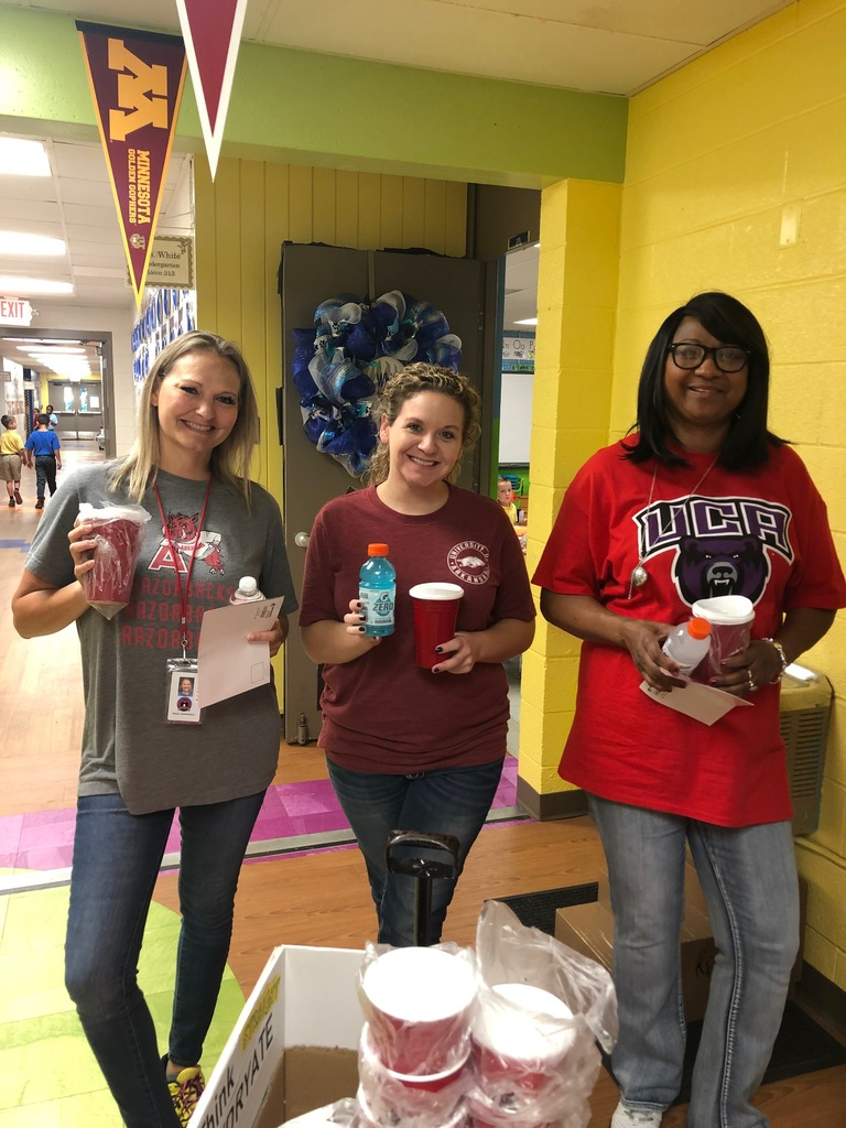 PBIS Coaches passed out goodies2